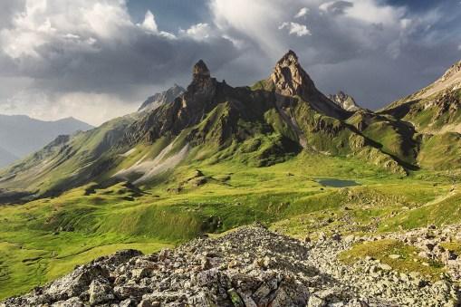 Les alpes vues par Lukas Furlan