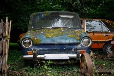 Cimetiere de voitures Simca