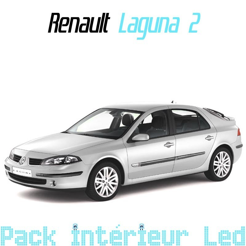 pack interieur led pour renault laguna 2 phase 1 led auto discount