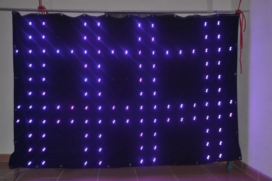 4 6m led vision curtain