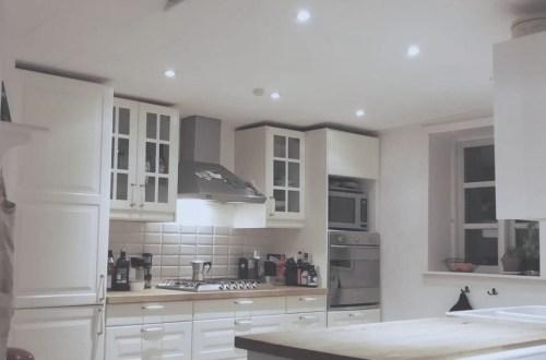 Køkken LED spots farve hvid antal