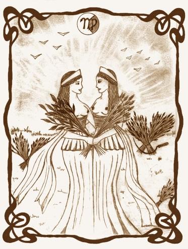Demetra e Persefone, le Due Dee