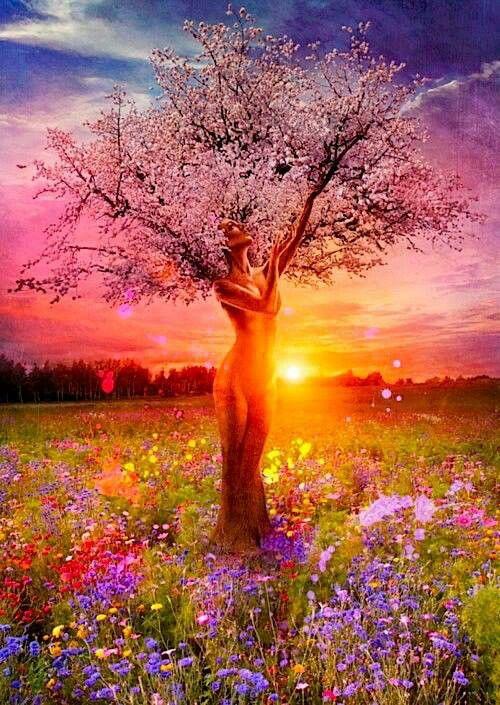 Celebrano l'Equinozio di Primavera