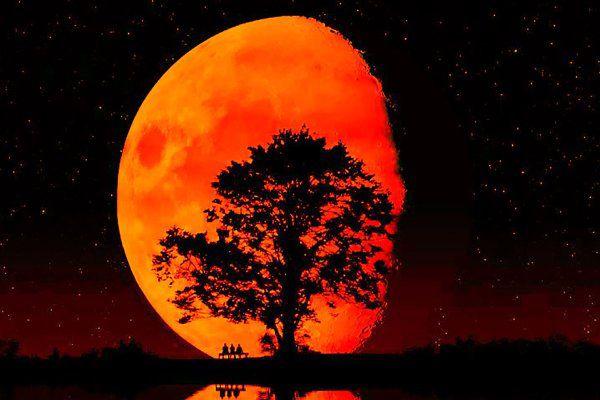 Eclissi, Luna di sangue