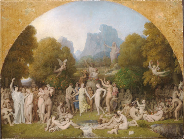 Età dell'Oro di Jean-Auguste Dominique Ingres (1780-1867)