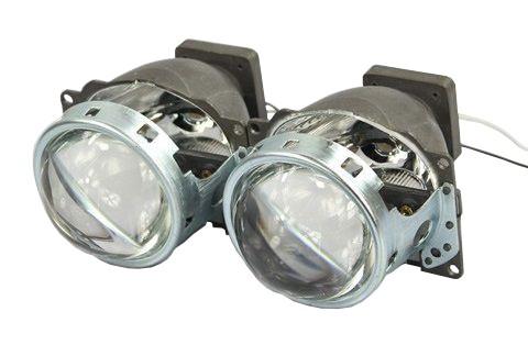 """Kit Lupe Bixenon Q5 Mini D1S/D3S 3""""Aceste lupe se folosesc pentru a inlocui lupele uzate originale HELLA Q5cu bec D1S sau D3S"""