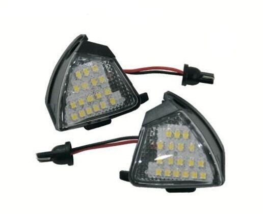 Lampi LED Auto GOLF 5, PASSAT B6, JETTA, EOS, TOUAREG Undermirror