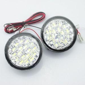 Lumini de zi rotunde 18 led *0,5W 12V - Off when headlight on