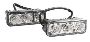 Lumini de zi DRL 3 led * 3W 12V-24V Epistar