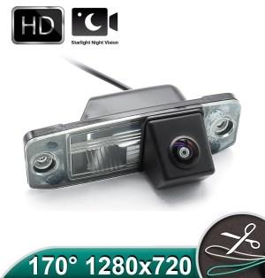 Camera marsarier HD cu StarLight Night Vision pentru KIA CEED, Sportage, Sorento, Carens - FA964 OEM