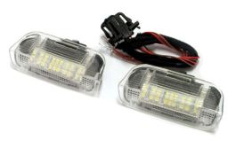 Lampi cu LED Portiera Fata VW, SEAT, SKODA - Dedicate OEM
