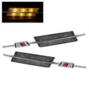 Semnalizari Aripa Led BMW E90, E91, E60, E61, E83, E88 Aspect Smoke