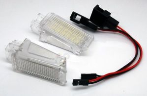 Lampi cu LED Portiera/Picioare SKODA, VW, SEAT CANBUS OEM
