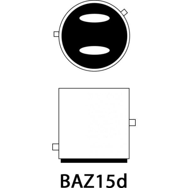Led auto ROSU 30W BAZ15D Canbus cu leduri CREE Premium