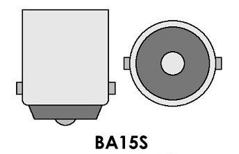 Led Auto ROSU 60W BA15S Canbus cu Leduri CREE Fara Polaritate