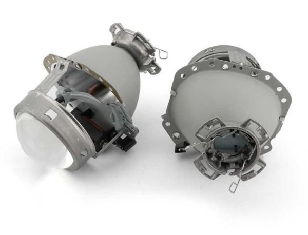 Lupe Bixenon D2S 3 tip Hella E55 EvoX-R 3.0 cu suport pentru igniter Premium