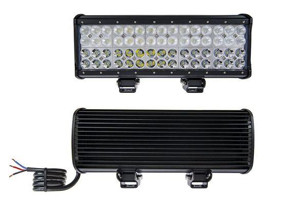 LED Bar Auto cu 2 faze (faza scurta/faza lunga) 180W/12V-24V, 15300 Lumeni, lungime 37 cm, Leduri CREE PREMIUM
