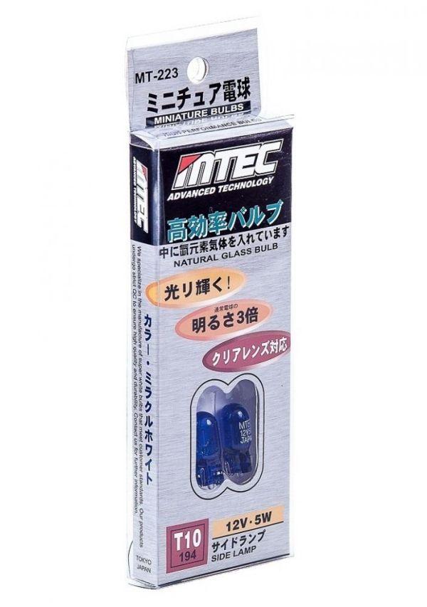 SET 2 BECURI MTEC W5W (T10) - XENON EFFECT PREMIUM