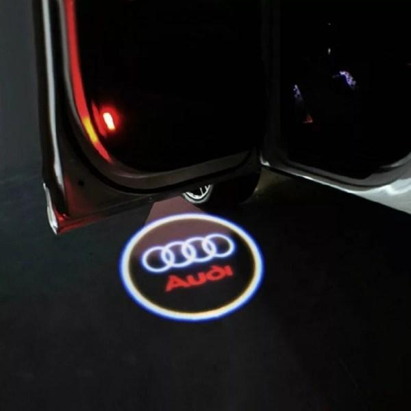 Proiectoare Portiere cu Logo Audi PREMIUM