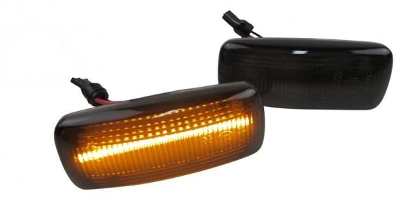 Set 2 Semnalizari Aripa LED Audi A2, A3, A4, A6, A8, TT PREMIUM
