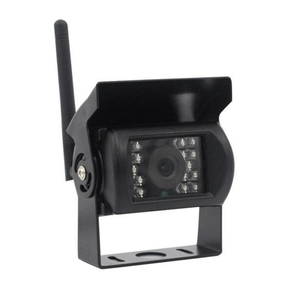 "Kit marsarier wireless cu camera si display de 9"" 12V~24V, K610W pentru Camioane, Autocare, Bus-uri"