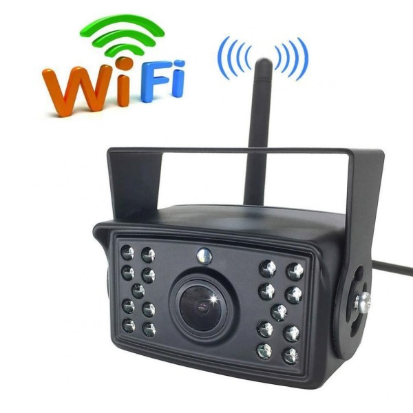 Camera auto WI-FI rezolutie HD pentru marsarier/frontala cu Nightvision 12-24V C500-WIFI PREMIUM