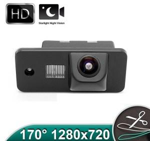 Camera marsarier HD, unghi 170 grade cu StarLight Night Vision pentru Audi A3, A4, A6, Q7 PREMIUM
