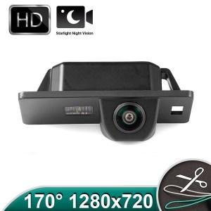 Camera marsarier HD, unghi 170 grade cu StarLight Night Vision VW Passat B6 sedan, Passat CC, Golf 4, Golf 5, Polo, Scirocco, Phaeton PREMIUM