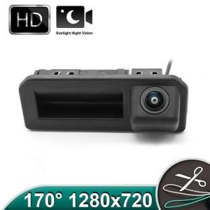Camera marsarier HD, unghi 170 grade cu StarLight Night Vision pentru Skoda Kodiaq, Karoq, Rapid, Scala PREMIUM