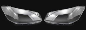 Set 2 sticle faruri pentru Mercedes S-Class W221 Facelift (2009 - 2013) - HW023 OEM