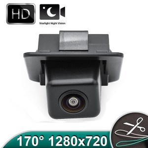 Camera marsarier HD, unghi 170 grade cu StarLight Night Vision pentru Mercedes-Benz C-Class W204, E-Class W212, C207, S-Class W221, CL-Class W216 - FA987 PREMIUM