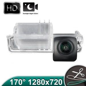 Camera marsarier HD, unghi 170 grade cu StarLight Night Vision pentru VW Golf 6, Golf 7, Passat B7, Amarok - FA8198 PREMIUM
