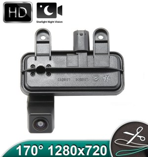 Camera marsarier HD, unghi 170 grade, cu StarLight Night Vision pentru Mercedes E-Class W212, C207 - FA953 PREMIUM
