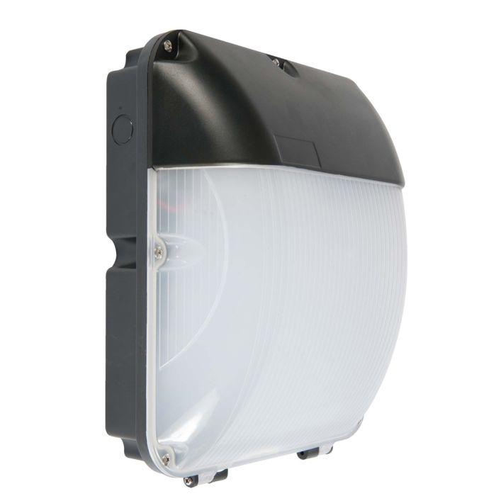 led wall pack light 30 watt ip65 commercial lighting black 6000k