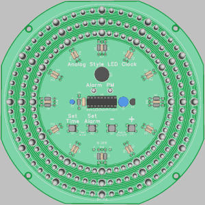 New layout for clock kit