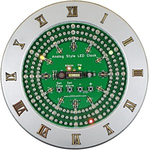 Analog-Style LED Clock