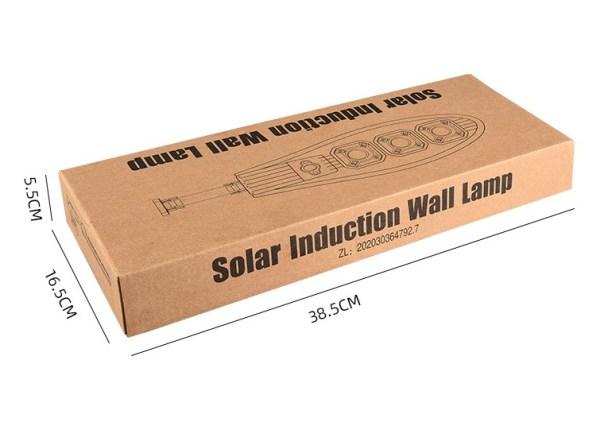Lampada stradale solare da 100W