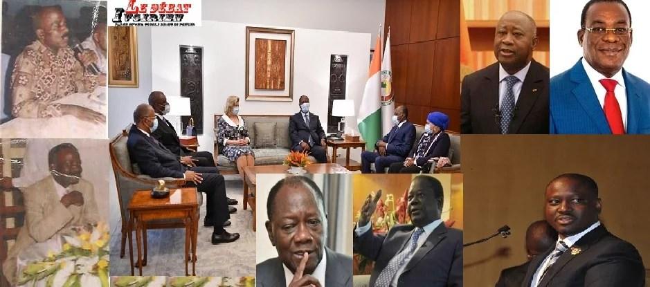 la géopoliqyisue ivoirienne alassane, gbagbo, bédié soro LEDEBATIVOIRIEN.NET