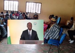 Chefs Biankouman soutien à Alassane Ouattara LEDEBATIVOIRIEN.NET