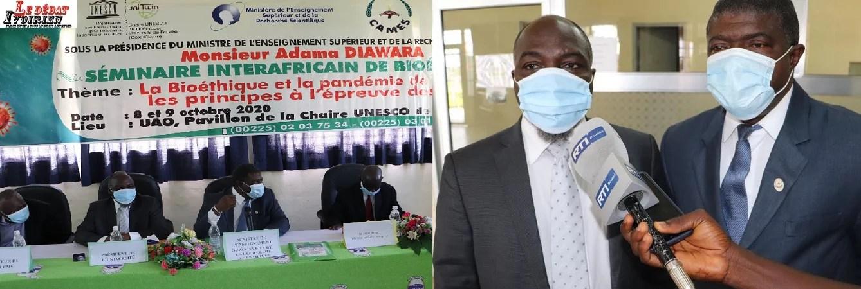covid et chercheurs africain LEDEBATIVOIRIEN.NET