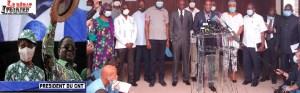le CNT opposition ivoirienne Bédié parle LEDEBATIVOIRIEN.NET