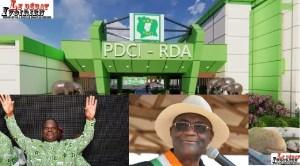 urgent-PDCI: combattu, Maurice Kakou Guikahué arrache une énorme victoire avec la célébration des 75 ans d'existence du parti de Bédié LEDEBATIVOIRIEN.NET