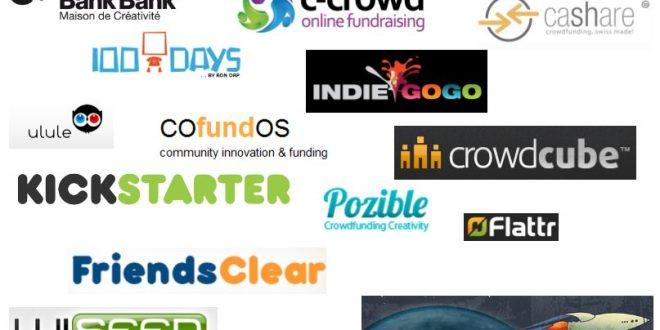 Les principaux acteurs du crowd-funding aujourd'hui
