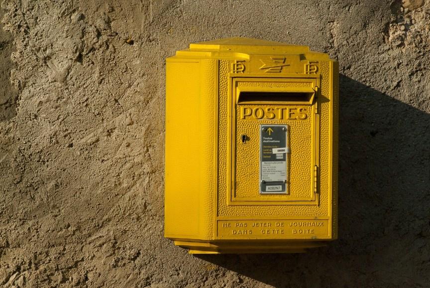 france-boite aux lettres