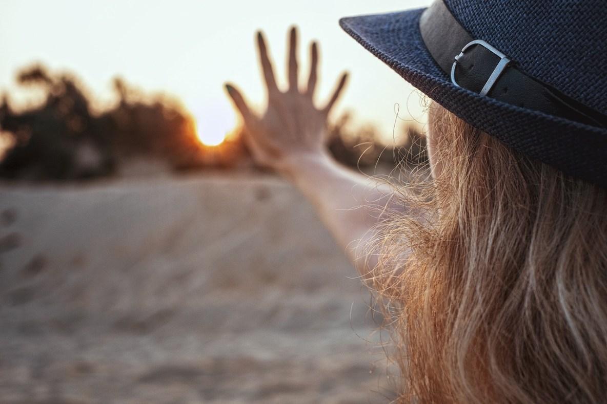 soleil avec 5 doigts