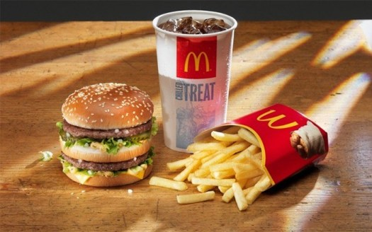 New burger at McDonald's