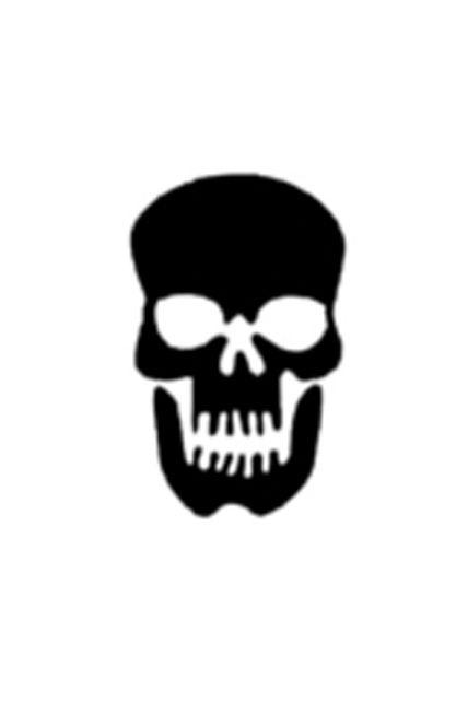 Pochoir Pour Tatouage Paillettes Tete De Mort Maquillage Tatouage Et Tatoos Le Deguisement Com