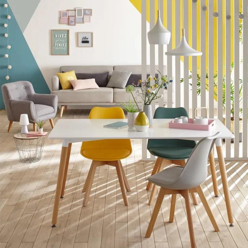 chaise salle manger baya gris atmosphera