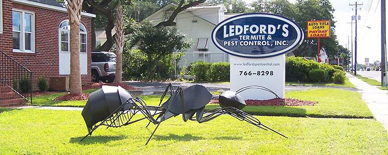 About Ledfords Pest Control