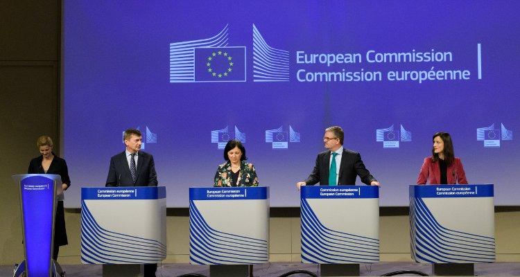 Andrus Ansip, Vice-President of the EC in charge of Digital Single Market, Vĕra Jourová, Member of the EC in charge of Justice, Consumers and Gender Equality, Julian King, Member of the EC in charge of Security Union, and Mariya Gabriel, Member of the EC in charge of Digital Economy and Society, will hold a press conference on stepping up the EU's efforts to tackle illegal content online.